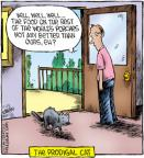 Cartoonist Dave Coverly  Speed Bump 2011-11-22 than
