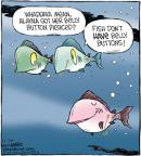 Cartoonist Dave Coverly  Speed Bump 2011-12-29 belly
