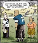 Cartoonist Dave Coverly  Speed Bump 2012-01-14 coach