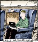 Cartoonist Dave Coverly  Speed Bump 2012-01-23 air travel