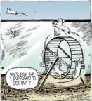 Cartoonist Dave Coverly  Speed Bump 2012-02-04 jump