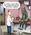 Cartoonist Dave Coverly  Speed Bump 2012-02-24 pharmaceutical