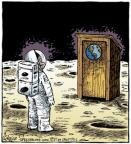 Cartoonist Dave Coverly  Speed Bump 2012-03-09 moon