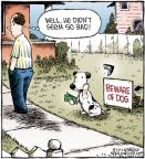 Comic Strip Dave Coverly  Speed Bump 2012-03-23 beware of dog