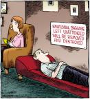 Cartoonist Dave Coverly  Speed Bump 2012-04-13 left
