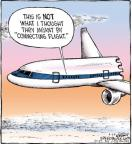 Cartoonist Dave Coverly  Speed Bump 2012-04-24 air travel