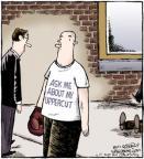 Cartoonist Dave Coverly  Speed Bump 2012-05-17 glove