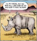 Cartoonist Dave Coverly  Speed Bump 2012-05-18 rhinoceros