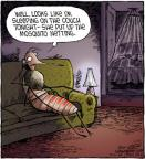 Cartoonist Dave Coverly  Speed Bump 2012-06-26 mosquito