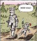 Cartoonist Dave Coverly  Speed Bump 2012-07-03 yell
