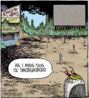 Cartoonist Dave Coverly  Speed Bump 2012-08-02 miss