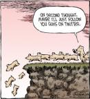 Cartoonist Dave Coverly  Speed Bump 2012-08-11 jump