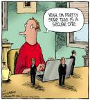 Cartoonist Dave Coverly  Speed Bump 2012-09-06 online safety