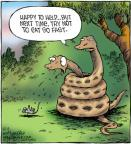 Cartoonist Dave Coverly  Speed Bump 2012-10-13 fast