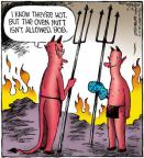 Comic Strip Dave Coverly  Speed Bump 2012-10-18 heat