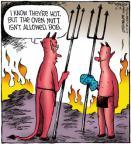 Comic Strip Dave Coverly  Speed Bump 2012-10-18 heat
