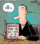 Cartoonist Dave Coverly  Speed Bump 2012-10-26 left brain