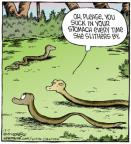 Cartoonist Dave Coverly  Speed Bump 2012-12-07 please