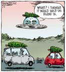 Cartoonist Dave Coverly  Speed Bump 2012-12-21 tree