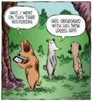 Cartoonist Dave Coverly  Speed Bump 2013-01-11 tree
