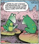 Cartoonist Dave Coverly  Speed Bump 2013-01-25 marketing