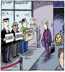 Cartoonist Dave Coverly  Speed Bump 2013-01-29 air travel