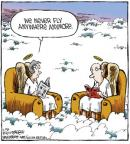 Cartoonist Dave Coverly  Speed Bump 2013-02-28 air travel