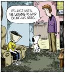 Comic Strip Dave Coverly  Speed Bump 2013-03-01 dog grooming