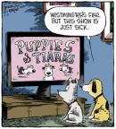 Cartoonist Dave Coverly  Speed Bump 2013-03-11 television cartoon