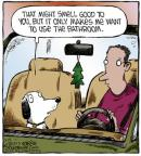 Cartoonist Dave Coverly  Speed Bump 2013-03-14 tree