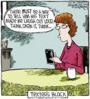 Cartoonist Dave Coverly  Speed Bump 2013-04-12 laugh