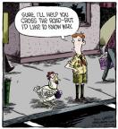 Cartoonist Dave Coverly  Speed Bump 2013-04-17 boy scout