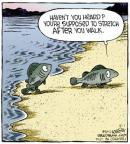 Cartoonist Dave Coverly  Speed Bump 2013-05-01 stretch