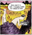 Comic Strip Dave Coverly  Speed Bump 2013-05-10 heat