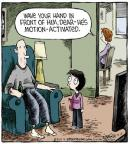 Cartoonist Dave Coverly  Speed Bump 2013-05-11 motion