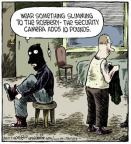 Cartoonist Dave Coverly  Speed Bump 2013-05-24 security