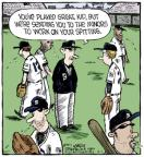 Cartoonist Dave Coverly  Speed Bump 2013-06-01 baseball