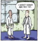 Cartoonist Dave Coverly  Speed Bump 2013-06-04 karate
