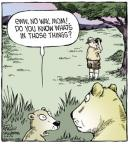 Cartoonist Dave Coverly  Speed Bump 2013-06-10 wildlife