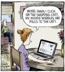Cartoonist Dave Coverly  Speed Bump 2013-06-11 left