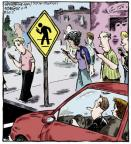 Cartoonist Dave Coverly  Speed Bump 2013-06-18 distract