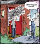 Cartoonist Dave Coverly  Speed Bump 2013-07-04 thick