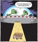 Cartoonist Dave Coverly  Speed Bump 2013-07-06 porcupine