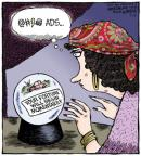 Cartoonist Dave Coverly  Speed Bump 2013-07-16 marketing
