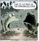 Cartoonist Dave Coverly  Speed Bump 2013-07-26 fire