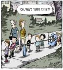 Cartoonist Dave Coverly  Speed Bump 2013-07-30 behavior