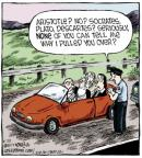Cartoonist Dave Coverly  Speed Bump 2013-08-23 over