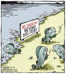 Cartoonist Dave Coverly  Speed Bump 2013-08-26 point