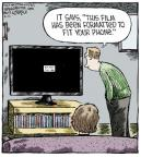 Cartoonist Dave Coverly  Speed Bump 2013-09-10 television cartoon
