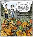 Cartoonist Dave Coverly  Speed Bump 2013-10-17 gardening